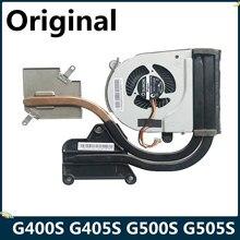 Lsc original para lenovo ideapad g400s g405s g500s g505s refrigerador de refrigeração do dissipador de calor ventilador at0yb0020v0 at0yb0020f0 dc28000das0