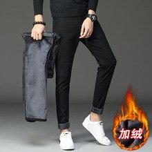 Зимние мужские штаны, плотные штаны из овечьей шкуры для мужчин, спортивные брюки, модные брюки, уличная одежда