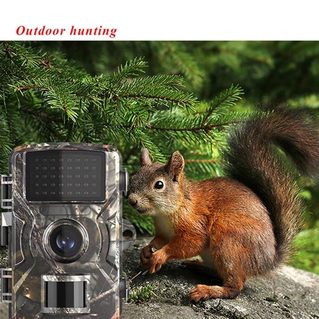 Trail Camera 12MP 1080P Game Hunting Cameras with Night Vision Waterproof 2 Inch LCD LEDs Night Vision Deer Cam Design 6