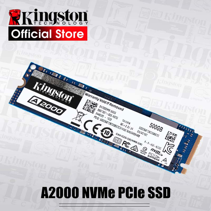 Kingston M.2 ssd M2 250gb A2000 PCIe NVME 500GB 1TB Solid State Drive 2280 Internal Hard Disk hdd for Laptop Desktop|Internal Solid State Drives| - AliExpress