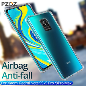 PZOZ For Xiaomi Redmi Note 9S Pocophone F1 A1 8 SE Phone Case Redmi Note 9S 7 5S 6 Pro Case Mi Max 2 3 8SE Phone Protection Case(China)