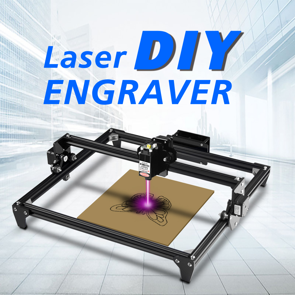 Laser-Engraving-Machine Engraver 3d-Printer Desktop Wood-router/cutter/printer Mini DIY title=