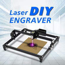 Twotrees Toten Laser Khắc Mini 2500MW Laser CNC Tự Làm Thợ Khắc Máy Tính Để Bàn Gỗ Router/Cắt/Máy In + laser Kính