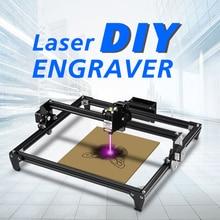 Twotrees Toten lazer oyma makinesi Mini 2500MW CNC lazer DIY gravür masaüstü ahşap Router/kesici/yazıcı + lazer gözlük