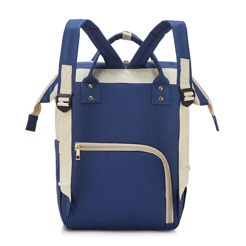 Diaper Bag Multi-functional Large-Volume Upgraded Korean-style Fashion Shoulder Nursing Mommy Bag MOTHER'S Bag Aiaper Backpack