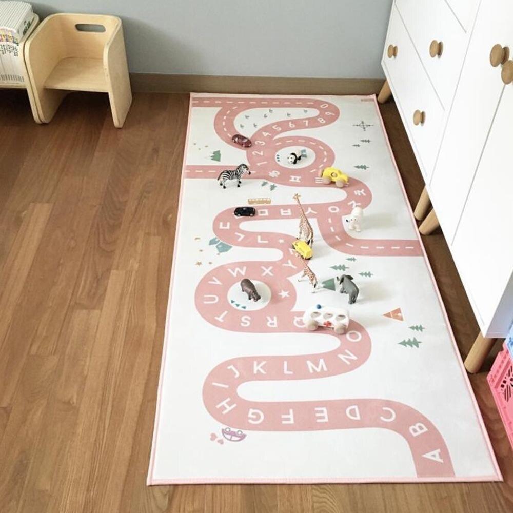 Non-Slip Baby Carpet Adventure Game Play Mat Child Crawling Floor Rug  G