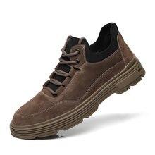 Мужские повседневные кожаные туфли оксфорды мужские Мокасины