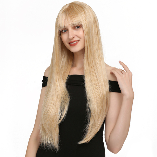 VeryYu 20-28 inches Straight Synthetic Wigs Hair Extensions & Wigs  VerYYu