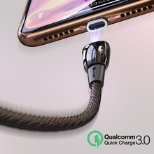 CAFELE Magnetic USB Cable for iPhone Micro QC3.0 type C Advanced Zinc alloy cable Charger Samsung Xiaomi Huawei