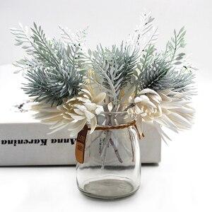 Искусственные цветы, искусственные растения, декоративные листья, Осеннее украшение для дома, искусственные цветы
