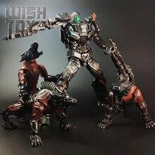 Dönüşüm Robot Peru öldürmek kilitleme Steeljaw UT R01 BSL 01 BSL 01 MPM KO büyük boy eylem şekilli kalıp çocuklar oyuncak koleksiyonu