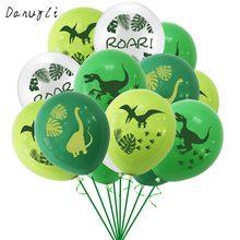 10 шт латексные воздушные шары с динозавром 12 дюймов