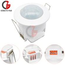 AC 220V PIR Motion Sensor Schalter IR Infrarot Körper Induktion Sensor Detectr LED Decke Downlight Control Schalter 360 Grad