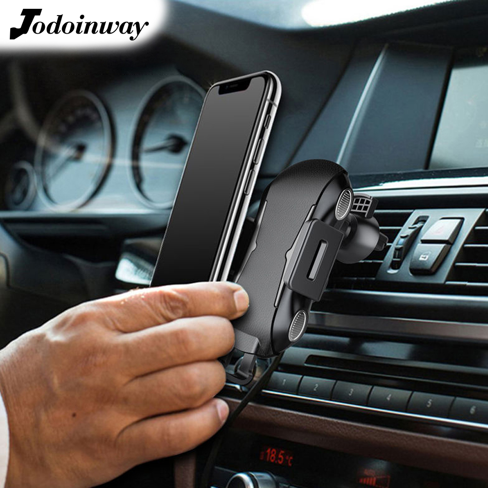 15 Вт Беспроводное зарядное устройство для телефона универсальный держатель для мобильного телефона для huawei P30 qi адаптер для быстрой зарядк...