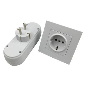 Image 3 - 16A EU Plug 1 to 2/ 3/4 Way Socket EU Standard Power Adapter AC 110~250V Outlet European Conversion Plug for travel family use