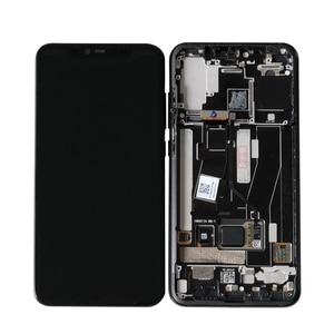 Image 5 - Original M&Sen LCDFrame For Xiaomi Mi8 Pro Mi 8 Pro In Screen Fingerprint AMOLED LCD Display Screen Frame+Touch Screen Digiziter