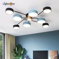 Nordic living room ceiling light modern minimalist designer dining room ceiling lamp