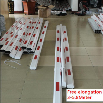 Electric boom guardrail, parking DC motor fence boom obstacle door