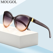 New luxury European and American simple fashion sunglasses women brand designer ladies cat eyes trend sun glasses Middle East