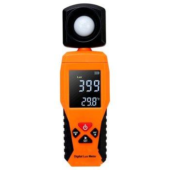 2019 cyfrowy miernik światła Luxmeter Lux Meter fotometr luminometr Lux FC urządzenie do pomiaru temperatury spektrofotometr spektrofotometr tanie i dobre opinie ACEHE SW-6013 Brak 1 to 200 000 Lux 1Lux -10 ~ 50℃ 14 ~ 140℉