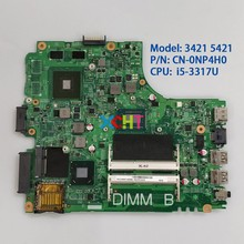 цена на CN-0NP4H0 0NP4H0 NP4H0 w SR0N8 i5-3317u w N13M-GSR-B-A2 GPU for Dell Inspiron 3421 5421 NoteBook PC Laptop Motherboard Mainboard