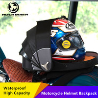 Rock Biker Waterproof Riding Backpack Helmet Bag Motorcycle Racing Computer Trendy Pangolin Backpack Luggage Bag mochila moto #