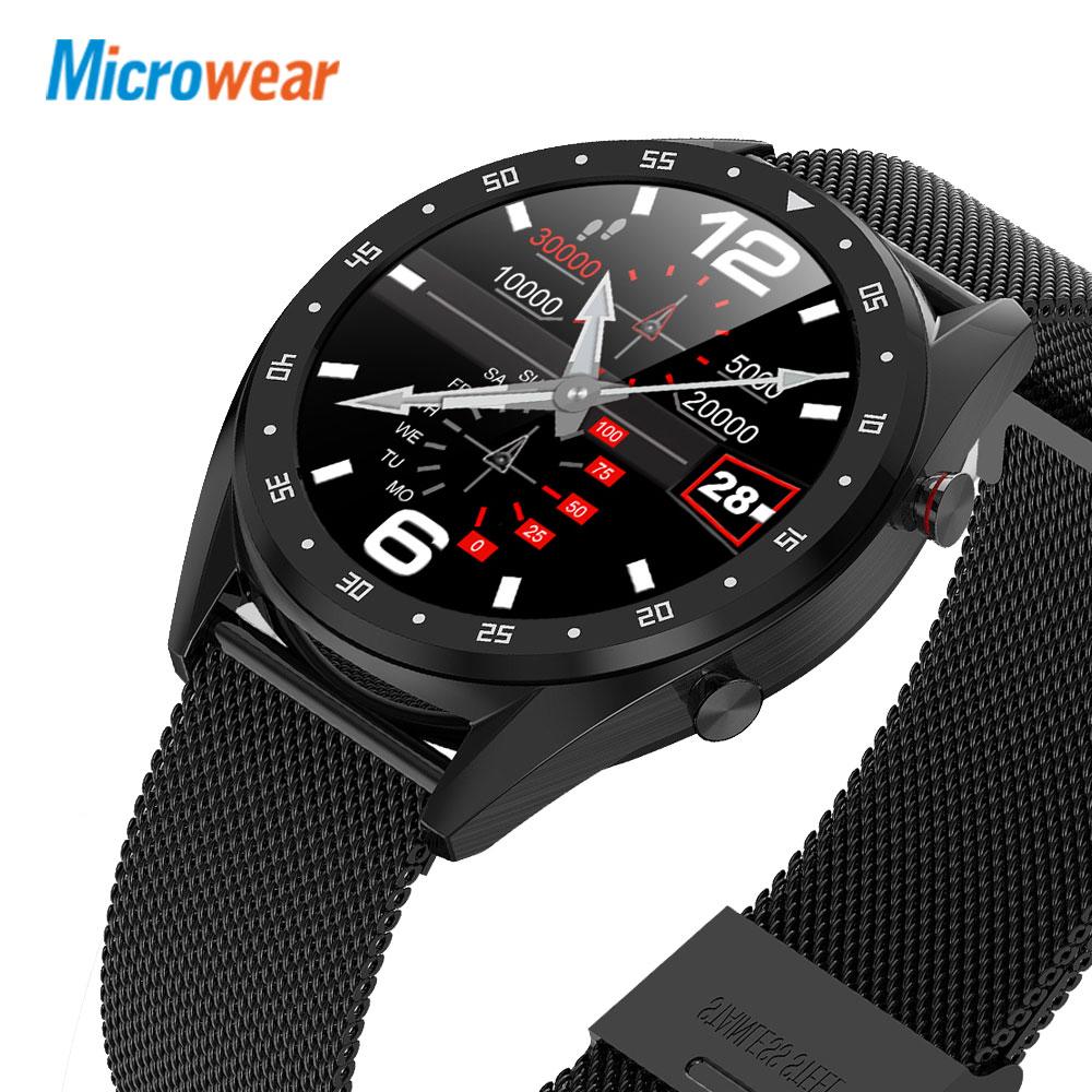 Original Microwear Smart Watch L7 Blood Pressure/Bluetooth/GPS/Sleep Monitor Smart Watch Fitness Men Women Watch
