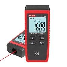 UNI-T ut373 mini digital tacômetro laser não-contato tacômetro velocímetro elétrico faixa 10-99999 rpm