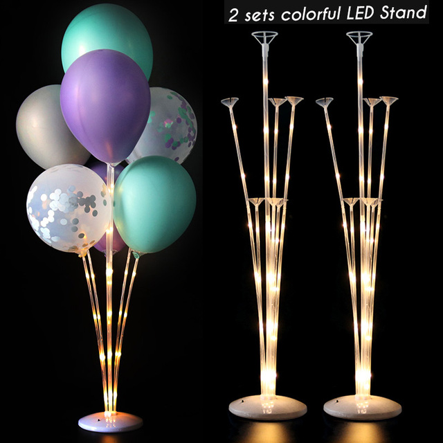 2sets led stands