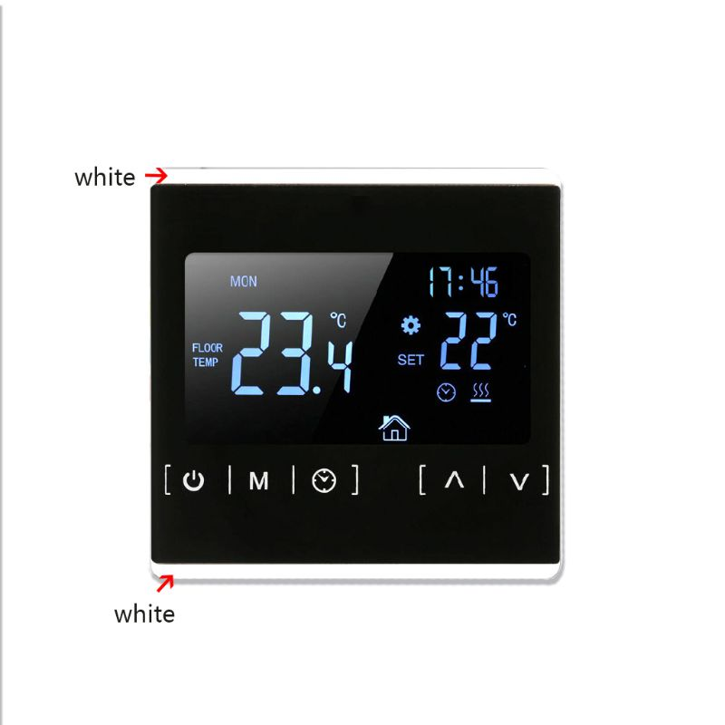 LCD Touch Screen Thermostat Electric Floor Heating System Water Heating Thermoregulator AC85-240V Temperature Controller 83XA