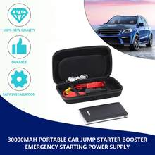 New Portable 30000mAh Car Jump Starter Pack Booster LED Charger Battery Power Bank Emergency Starting Power Supply Drop Shipping(China)
