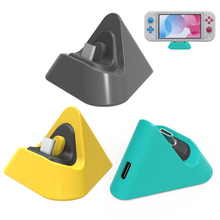 Portable Charging Dock for Nintendo Switch Lite Type C Charger Base Stand 3 Colors New Charger Base Stand Charging Dock   Switch