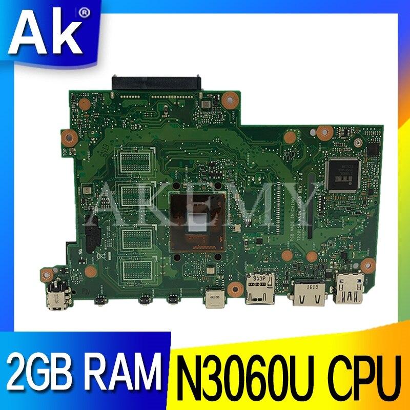 Akemy tp201sa original mainboard para asus vivobook tp201 tp201s tp201sa placa mãe do portátil com n3060u 2 gb ram|Placas-mães| |  - title=