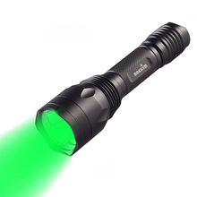 Hunting Light Green 1200LM Tactical LED Flashlight, Night Hu