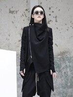 Owen seak Women Casual Coats Hoodies Sweatshirts Jackets High Street Clothing Winter Dust Women Coats Windbreaker Black Jacket