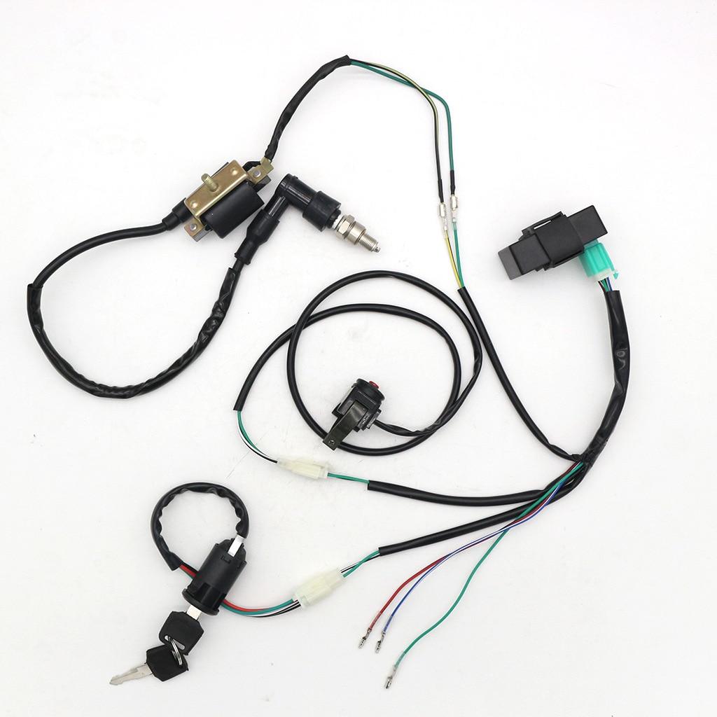 For ATV 50CC 70CC 90CC 110CC-160cc Buggy Go Kart Wire Harness