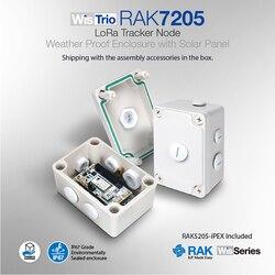 Wistrio Lora Tracker Knooppunt Lorawan Sensor Board Gps Module Met Weerbestendige Behuizing Lora Antenne Ingebouwde Semtech SX1276