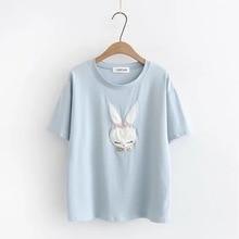 T shirt Women printing cotton Loose Casual tshirt 2020 Hot Short O-neck Sleeves