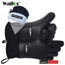 1 stück Lange Silikon Küche Handschuhe BBQ Grill Handschuhe Wärme Resistant Kochen Handschuhe Für Grillen Mikrowelle Mitts Handschuhe