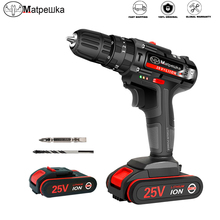 Power-Tools Electric-Screwdriver Impact-Drill Lithium-Ion-Battery Cordless Rechargeable