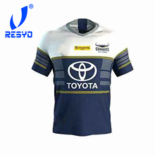 RESYO FOR  2020 North Queensland Cowboys Home/Away Rugby Jersey Sport Shirt S-5XL