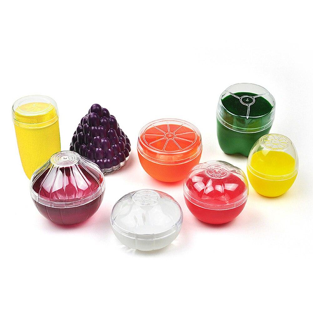 Контейнеры для овощей из пластика для лука, чеснока, перца, томата, лимона, свежая коробка для хранения фруктов, коробка для фруктов, органай...