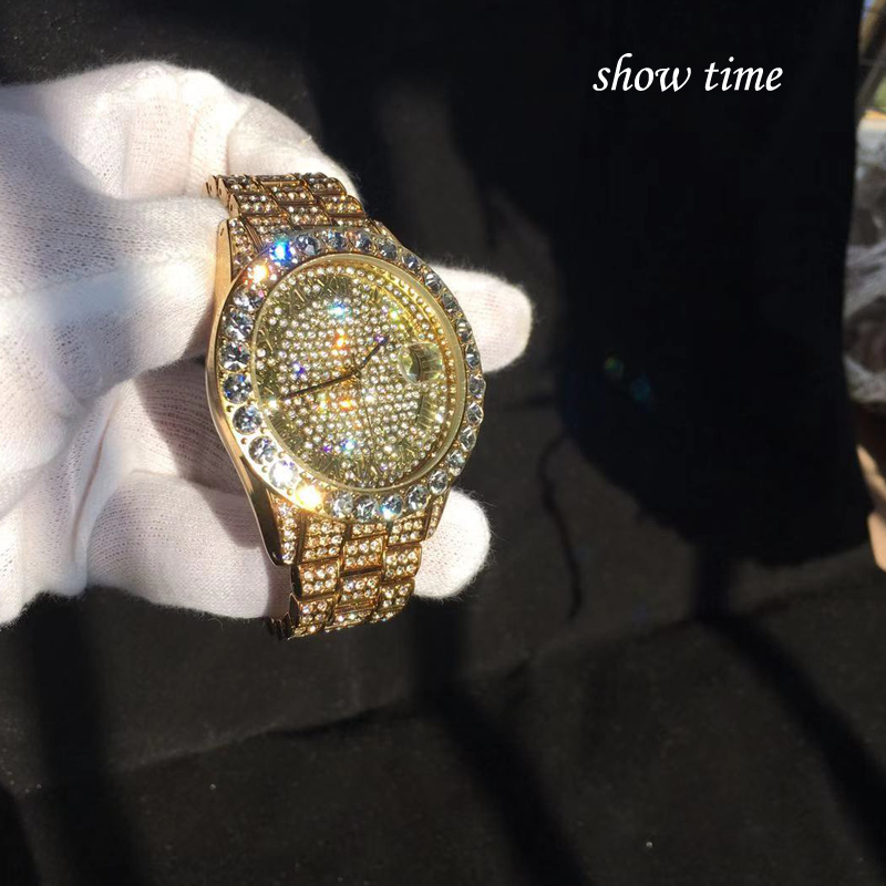 shining large diamonds watch for men hip hop iced out mens quartz watches waterproof auto date business male clock drop shipping relogio masculino reloj hombre zegarek meski (31)