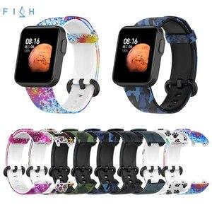 Image 1 - のためのxiaomi mi腕時計liteグローバル版の交換カラフルなリストバンドredmi腕時計mi腕時計lite sma