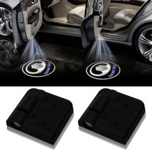 Беспроводной светодиодный лазерный проектор для двери автомобиля
