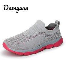 2019 Man Sneakers Outdoor Walking Men Shoes Mesh Breathable Sport Running