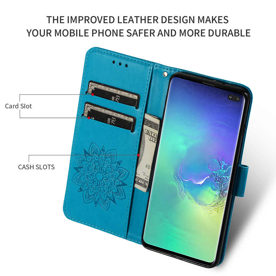 3d çiçek cüzdan kapak SAMSUNG S8 + G955 kılıfı S8 artı Flip cep telefonu çantası GALAXY S8 SM-G950F G950FD G950W deri kitap