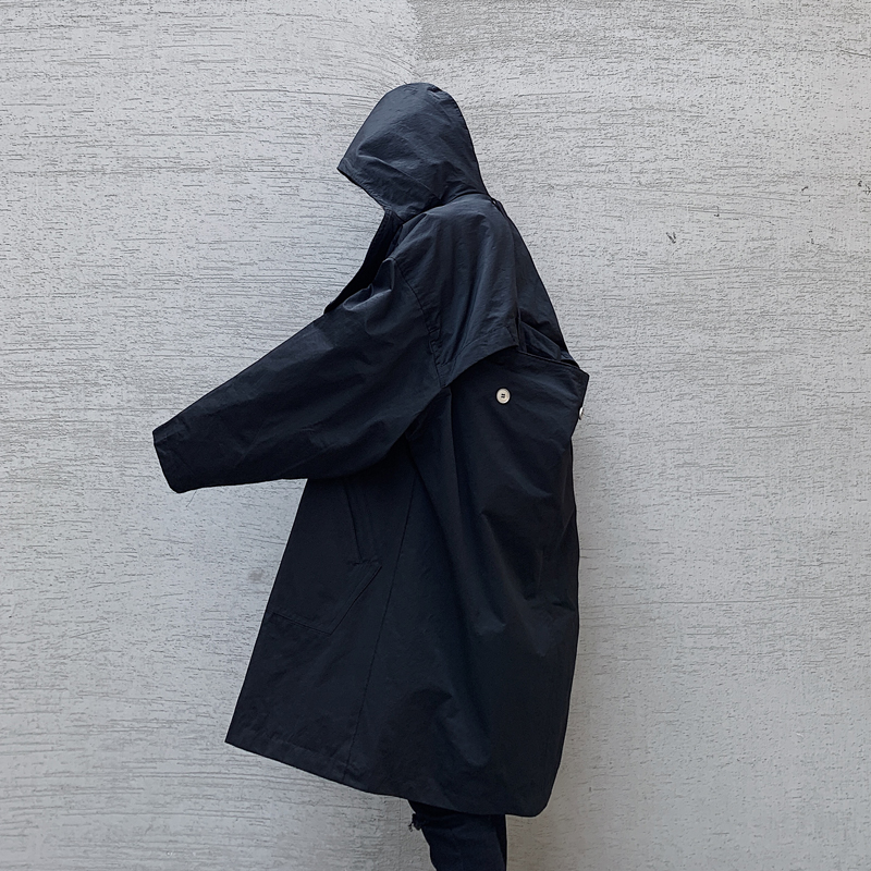 Мужская зимняя куртка с капюшоном, Мужская зимняя ветровка, хлопковая куртка с капюшоном - 3
