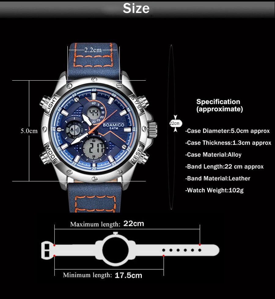 H4ffa8708fa8f4e69a29a0ebde71b5d27W BOAMIGO Fashion Mens Watches men Military Digital analog Quartz Chronograph sport Watch Waterproof wristwatch relogio masculino