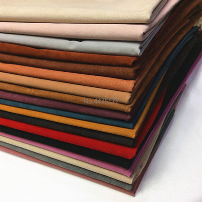 A4 297X210 Multi Color Genuine Pig Split Lining Suede Hide Skin Leather Material For Leathercraft Sewing Accessories image